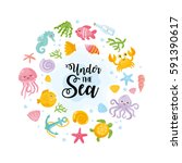Under The Sea Card....