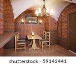 3d interior salon and classic... | Shutterstock . vector #59143441
