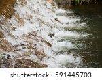 the small stream or rill | Shutterstock . vector #591445703