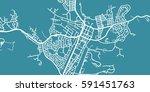 detailed vector map of alice... | Shutterstock .eps vector #591451763