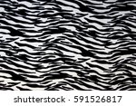 Texture Of Zebra