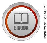 e book icon   Shutterstock .eps vector #591533297