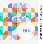 vector modern elegant circle... | Shutterstock .eps vector #591577073