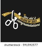 vector congratulations... | Shutterstock .eps vector #591592577