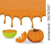 vector illustration of logo for ... | Shutterstock .eps vector #591767057
