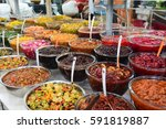 traditional iranian food. souk... | Shutterstock . vector #591819887