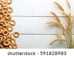 Ears Of Wheat And Baranka ...