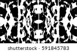 grunge black and white urban... | Shutterstock .eps vector #591845783