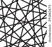 abstract minimalistic design... | Shutterstock . vector #591862673