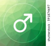 male sign icon. male sign... | Shutterstock . vector #591874697