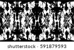 grunge black and white urban... | Shutterstock .eps vector #591879593
