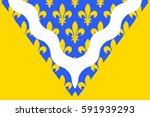 flag of val de marne is a... | Shutterstock . vector #591939293