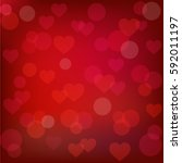 abstract st. valentine's...   Shutterstock . vector #592011197