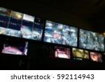 blurred photo  blurry image ... | Shutterstock . vector #592114943