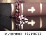 Holy Communion. Catholic Theme.