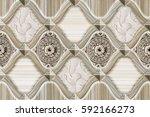 ceramic tiles texture for... | Shutterstock . vector #592166273