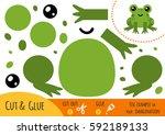 education paper game for... | Shutterstock .eps vector #592189133
