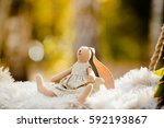 the toy is made in the form of... | Shutterstock . vector #592193867