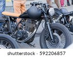 different types of motorcycles... | Shutterstock . vector #592206857