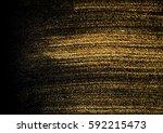 gold explosion glitter texture... | Shutterstock . vector #592215473