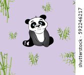 hand drawn vector illustration... | Shutterstock .eps vector #592246217