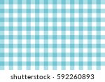 blue pattern plaid texture... | Shutterstock .eps vector #592260893