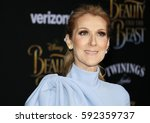 celine dion at the los angeles... | Shutterstock . vector #592359737