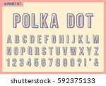 Polka Dot Alphabet Letters Set...