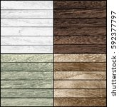 Set Of Wood Texture. Vector