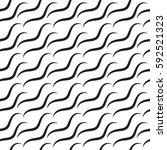 vector color wavy pattern.... | Shutterstock .eps vector #592521323