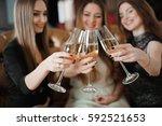 holidays  nightlife ... | Shutterstock . vector #592521653