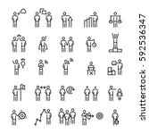 business people  management... | Shutterstock .eps vector #592536347