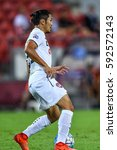 Small photo of Adison Promark of Muangthong United in action during the AFC Champions League between Brisbane Roar and Muangthong United at Suncorp Stadium on February 21, 2017 in Australia.