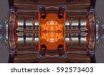 computer generated image of a... | Shutterstock . vector #592573403