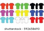 t shirt | Shutterstock .eps vector #592658693