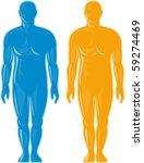 vector illustration of a male...   Shutterstock .eps vector #59274469
