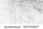 grunge overlay texture. vector... | Shutterstock .eps vector #592793927