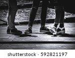 shoes    Shutterstock . vector #592821197