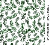 seamless exotic pattern with...   Shutterstock .eps vector #592850813