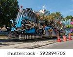 rio de janeiro  brazil   march... | Shutterstock . vector #592894703