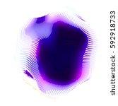 abstract vector background dot... | Shutterstock .eps vector #592918733