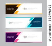 vector design banner background. | Shutterstock .eps vector #592996913