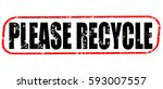 Please Recycle Red Stamp On...