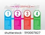 business infographics. timeline ...   Shutterstock .eps vector #593007827