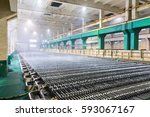 zinc electrowinning workshop...   Shutterstock . vector #593067167