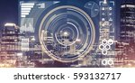 background conceptual image... | Shutterstock . vector #593132717
