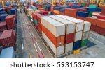 container container ship in...   Shutterstock . vector #593153747