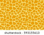 seamless colorful giraffe... | Shutterstock .eps vector #593155613