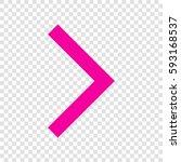 right arrow icon. vector....