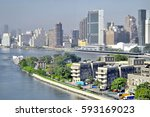Small photo of A View of Roosevelt Island, New York, United States